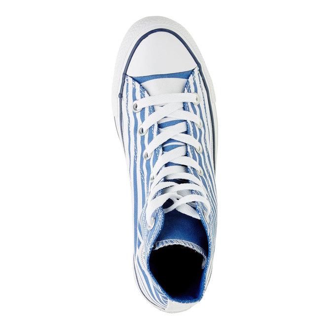 Pánské kotníčkové tenisky converse, modrá, 899-9004 - 19