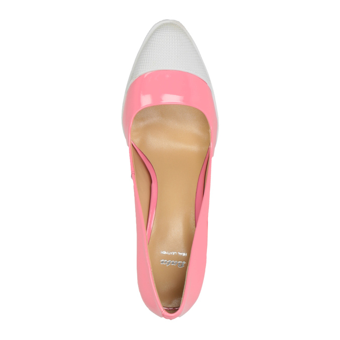 Růžové lodičky ve sportovním designu bata, růžová, 726-5630 - 19