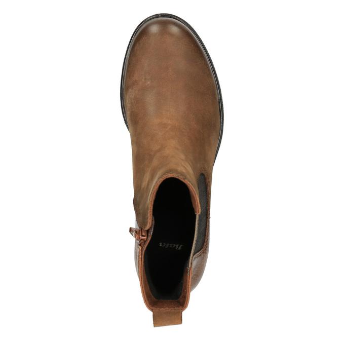 Dámská kotníčková obuv bata, hnědá, 696-4606 - 19