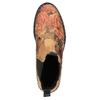Kožené Chelsea Boots s květinovým vzorem bata, hnědá, 596-3620 - 19