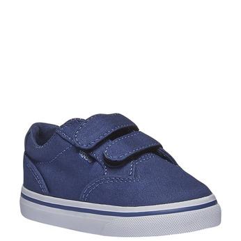 Dětské tenisky na suchý zip vans, modrá, 189-9160 - 13