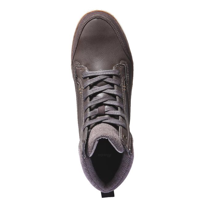 Kotníčkové tenisky bata, hnědá, 841-4401 - 19