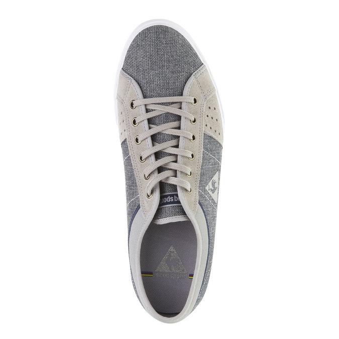 Pánské textilní tenisky le-coq-sportif, šedá, 889-2146 - 19