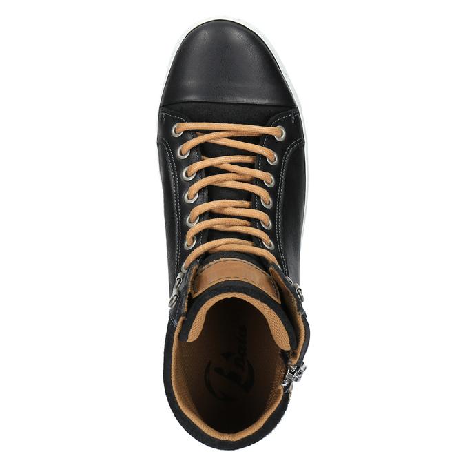 Pánské kotníčkové tenisky bata, černá, 844-6625 - 19