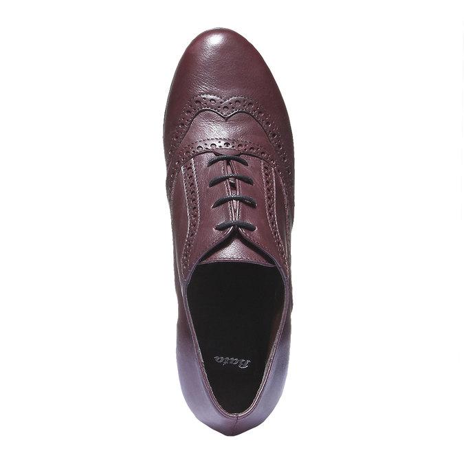 Women ankle boots bata, červená, 624-5142 - 19