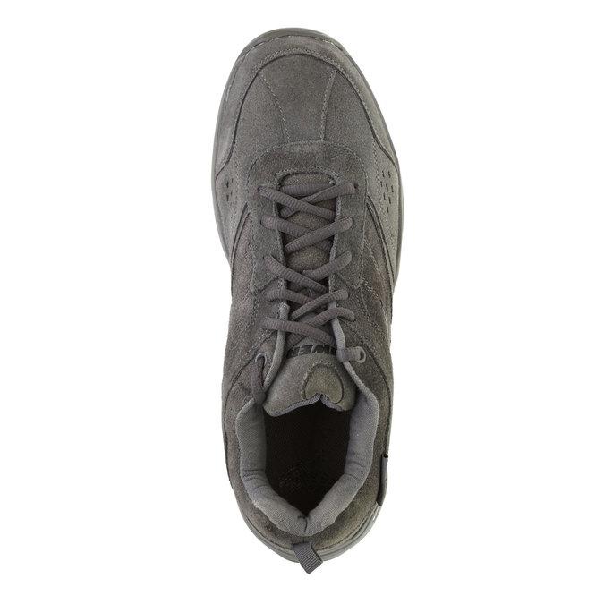 Kožené sportovní tenisky power, šedá, 803-2243 - 19