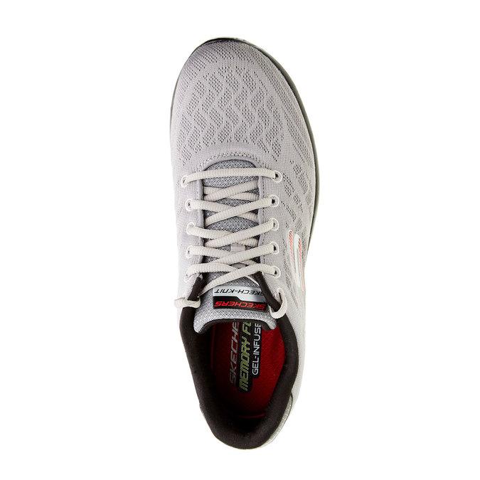 Pánské sportovní tenisky skechers, šedá, 809-2979 - 19