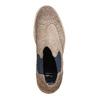 Semišové Chelsea bata, hnědá, 893-2373 - 19