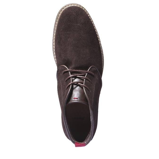 Kotníčková obuv ve stylu Chukka bata, hnědá, 893-4245 - 19