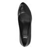 Kožené lodičky na vysokém podpatku bata, černá, 624-6105 - 19