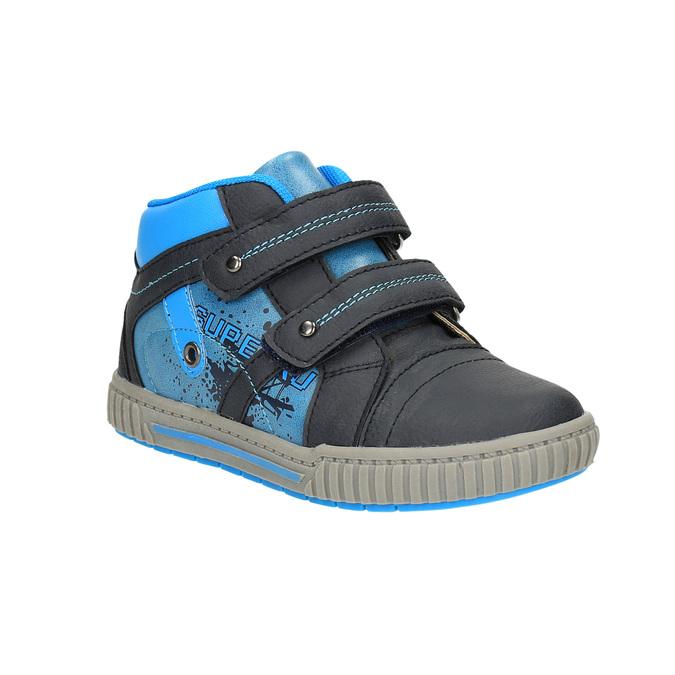 Dětské kotníčkové tenisky mini-b, modrá, 211-9603 - 13