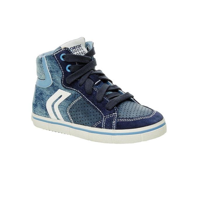 Dětské kotníčkové tenisky geox, modrá, 319-9104 - 13