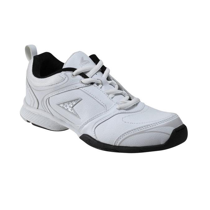 Dámská sportovní obuv power, bílá, 501-1088 - 13