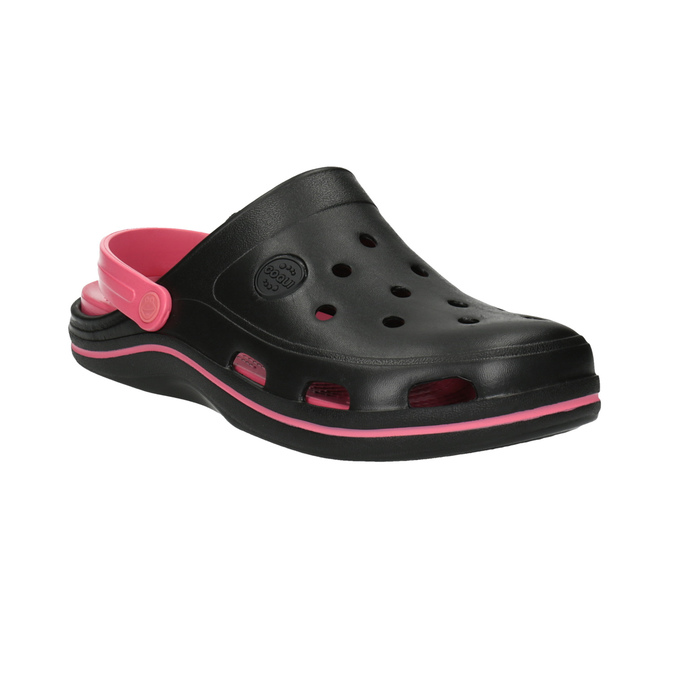 Dámské sandály Clogs coqui, černá, 501-6650 - 13