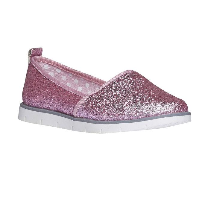 Dívčí Slip On se třpytkami mini-b, růžová, 329-5163 - 13