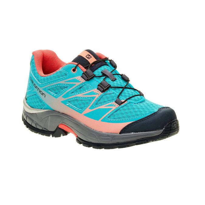 Dětská sportovní obuv salomon, tyrkysová, 309-9001 - 13