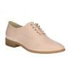 Dámské Oxford polobotky bata, růžová, 528-5631 - 13