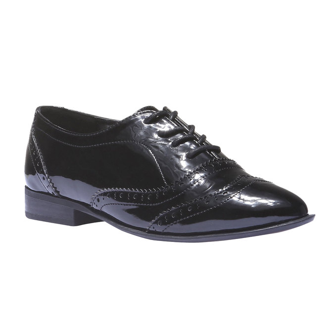 Dámské polobotky bata, černá, 521-6104 - 13