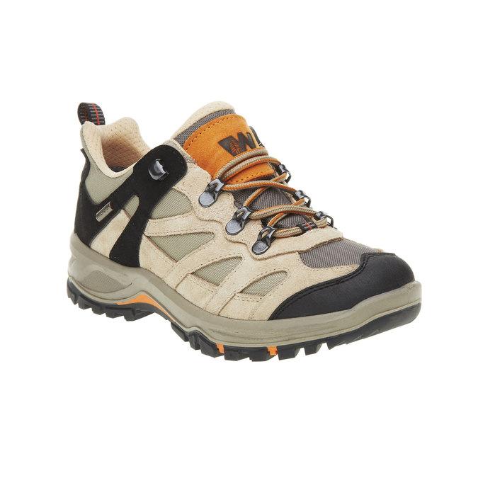 Kožené Outdoor boty, žlutá, 543-8208 - 13