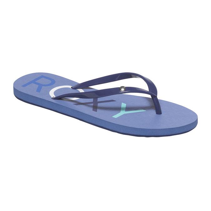 Dámské žabky roxy, modrá, 571-9009 - 13