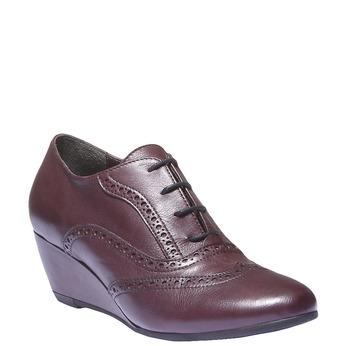 Women ankle boots bata, červená, 624-5142 - 13