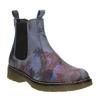 Kožené Chelsea Boots s květinovým vzorem bata, modrá, 596-9620 - 13