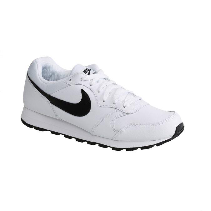 Pánská sportovní obuv nike, bílá, 804-1159 - 13