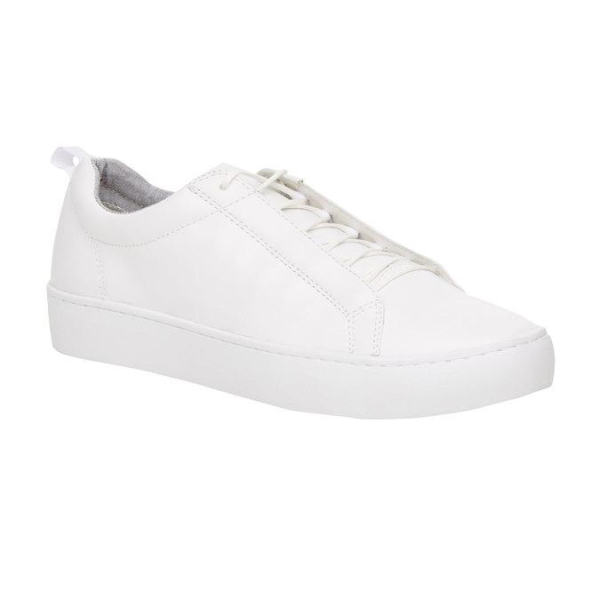 Bílé kožené tenisky vagabond, bílá, 824-1004 - 13