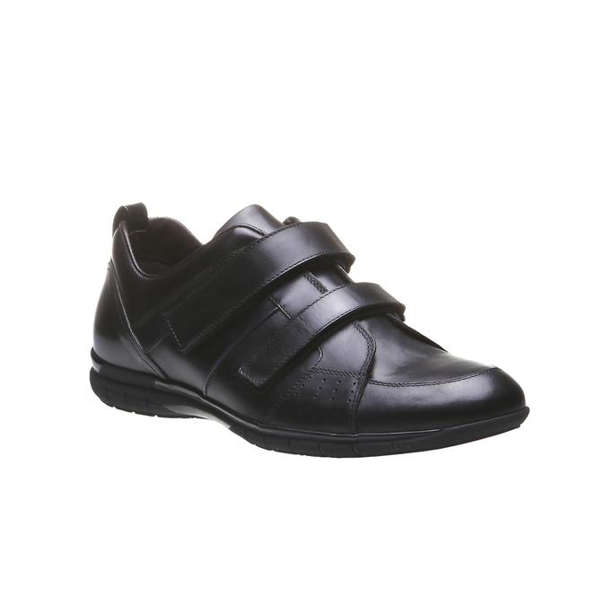 Kožené tenisky bata, černá, 814-6344 - 13