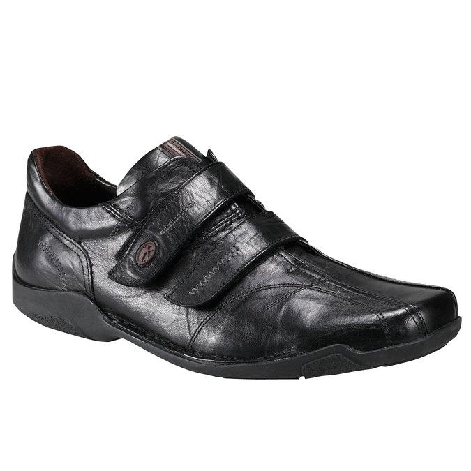 Kožená obuv fluchos, černá, 824-6778 - 13