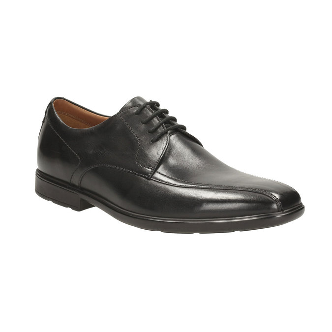 Leather Derby Shoes clarks, černá, 824-6322 - 13
