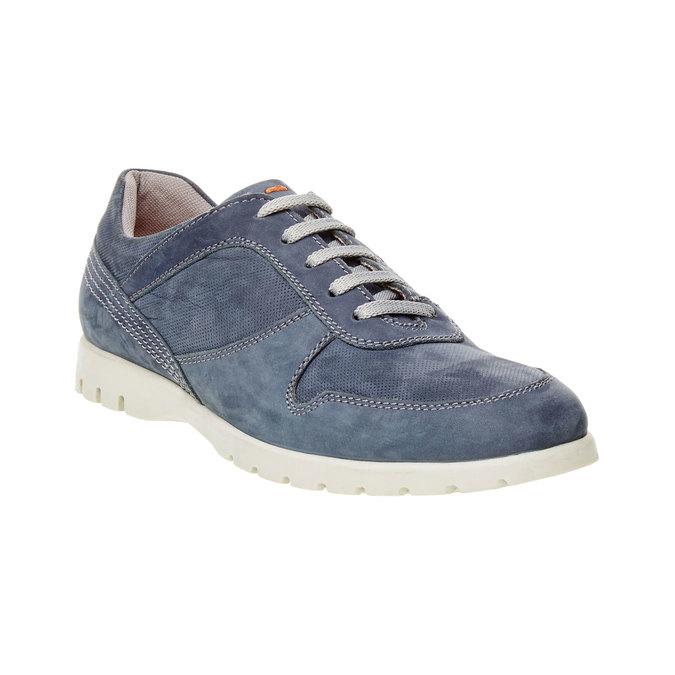 Ležérní kožené tenisky flexible, modrá, 846-9650 - 13