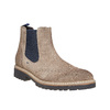 Semišové Chelsea bata, hnědá, 893-2373 - 13