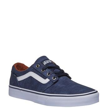Pánské tenisky s denimovým svrškem vans, modrá, 889-9204 - 13