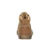 Kožená kotníčková obuv dětská richter, hnědá, 194-8001 - 17