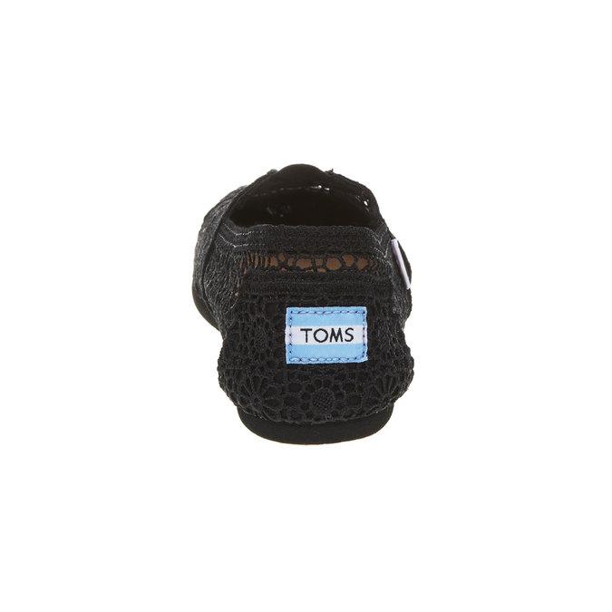 Krajkové Slip on toms, černá, 519-6100 - 17