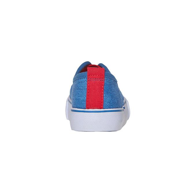 Dětské Slip on boty mini-b, modrá, 219-9150 - 17