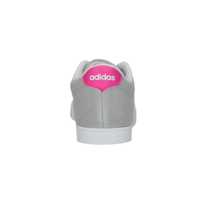 Šedé dámské tenisky z broušené kůže adidas, šedá, 503-2201 - 17