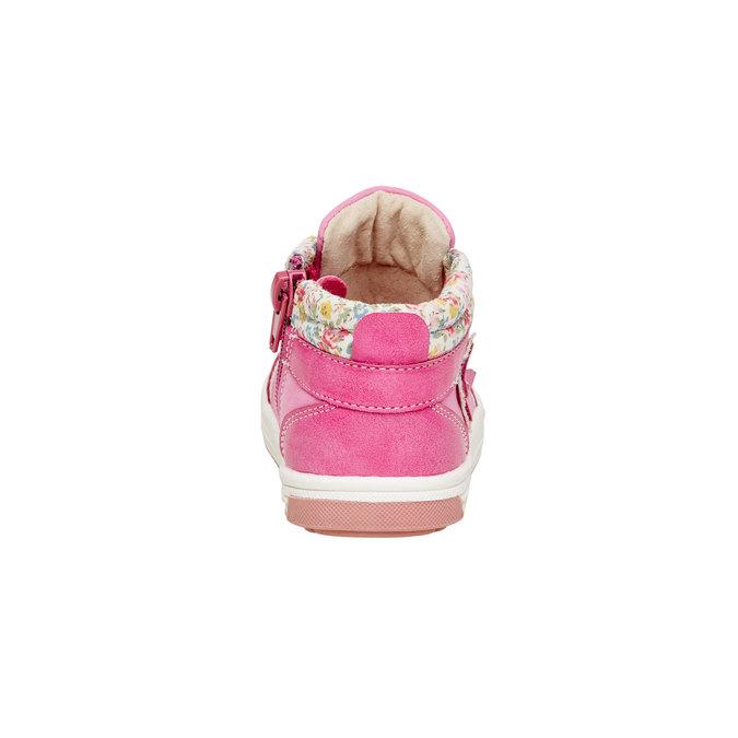 Dětské kotníčkové boty mini-b, růžová, 121-5100 - 17
