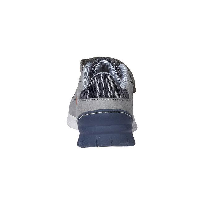 Dětské tenisky na suché zipy mini-b, šedá, 311-2190 - 17
