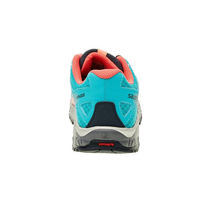 Dětská sportovní obuv salomon, tyrkysová, 309-9001 - 17