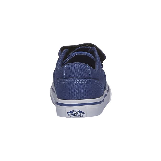 Dětské tenisky na suchý zip vans, modrá, 189-9160 - 17
