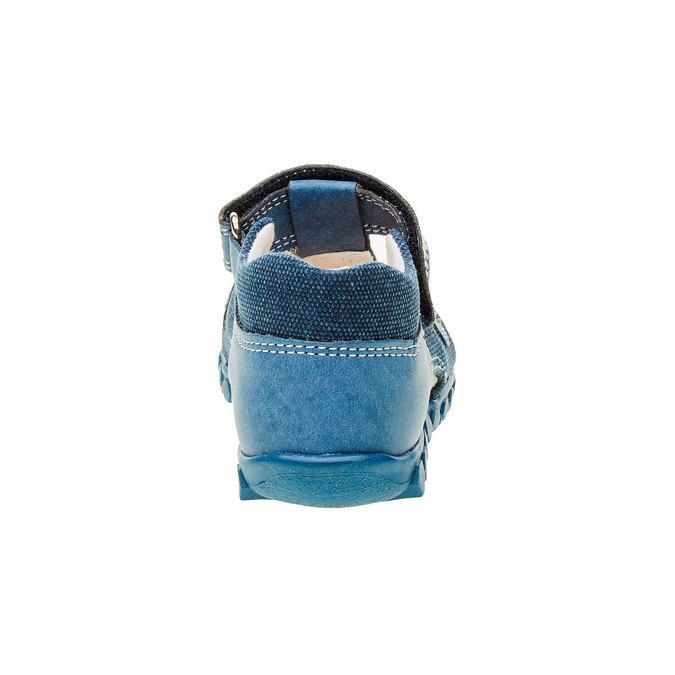 Chlapecké sandály na suchý zip primigi, modrá, 111-9139 - 17