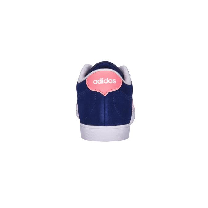 Dámské kožené tenisky adidas, modrá, 503-9201 - 17