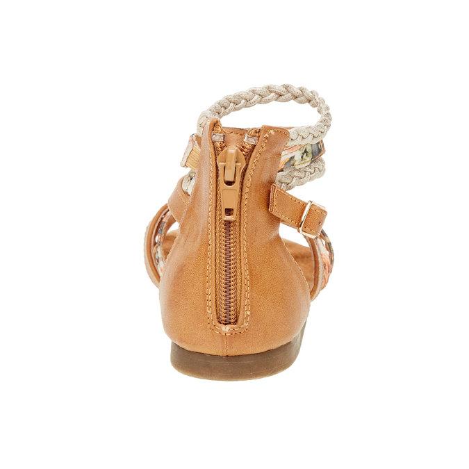 Sandály s pásky kolem kotníku bull-boxer, hnědá, 461-3001 - 17