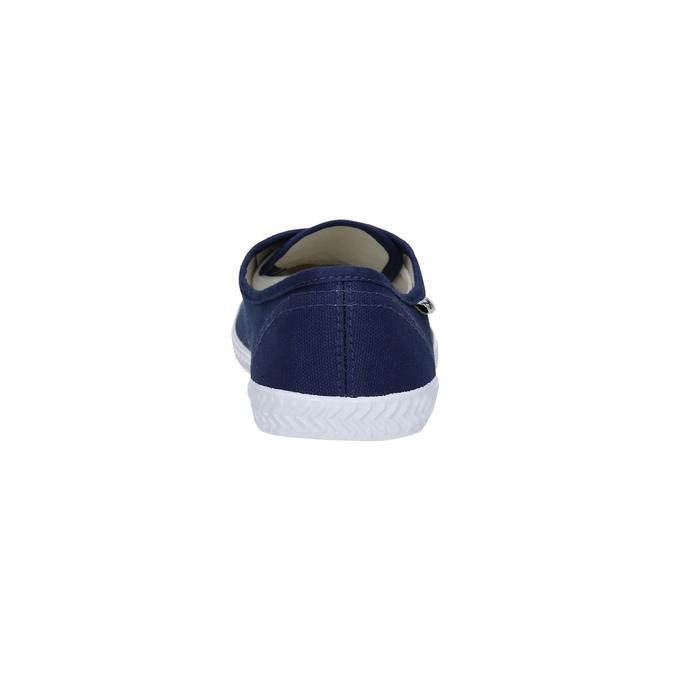 Modré textilní tenisky tomy-takkies, modrá, 519-9691 - 17