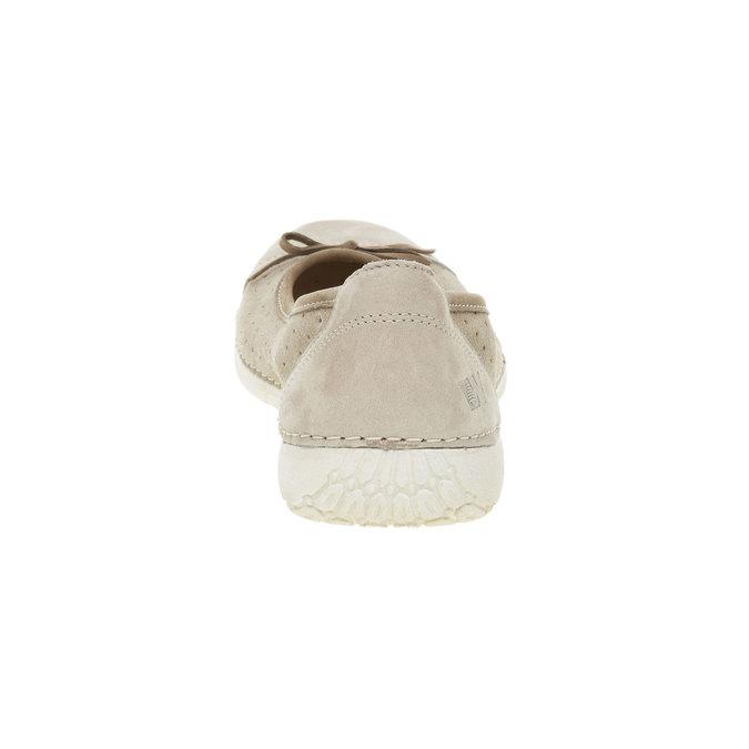 Ležérní kožené baleríny weinbrenner, béžová, 526-2503 - 17