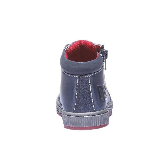 Dětské kotníčkové tenisky mini-b, fialová, 114-9135 - 17