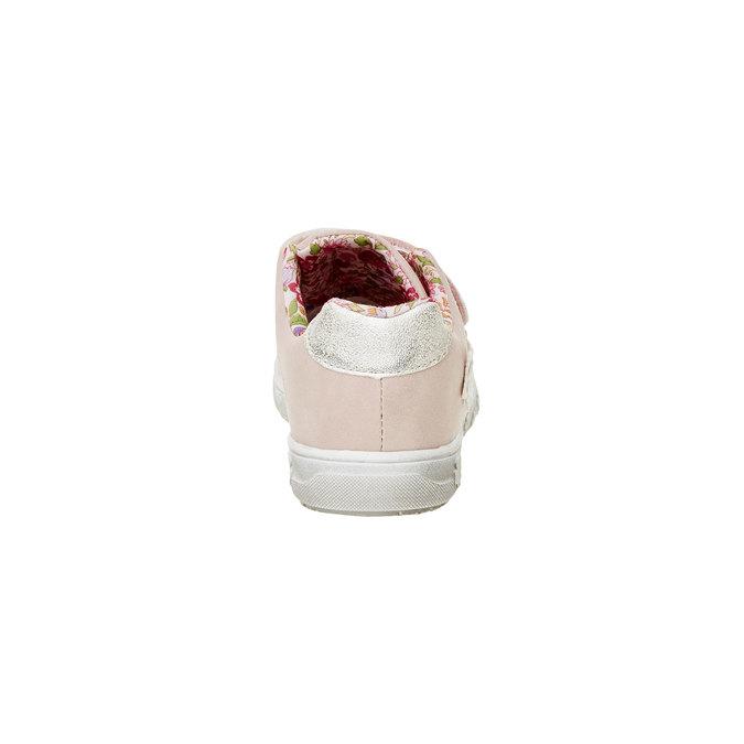 Dívčí tenisky na suché zipy mini-b, růžová, 221-5161 - 17