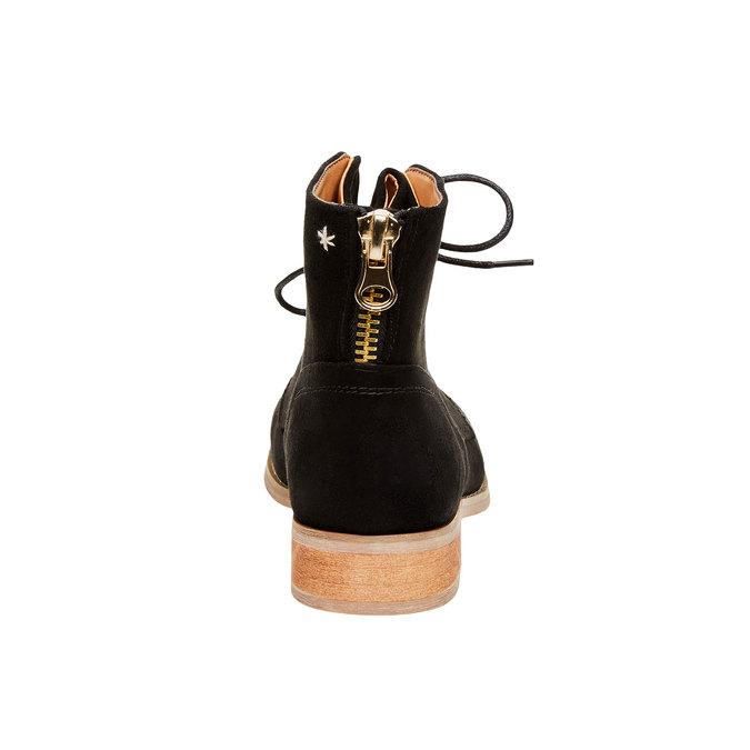 Kotníčkové boty se zipem bata, černá, 599-6493 - 17
